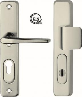 IKON Schutzbeschlag SM05, Alu PI Junior - Griffplatte/Drücker